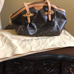 Louis Vuitton Tivoli GM Monogram Brown Canvas Bag